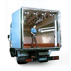Brazo cargador para camiones